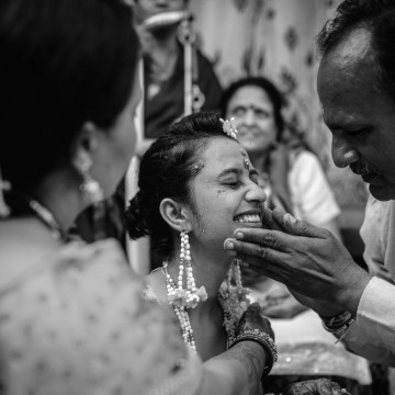 Wedding photographer Milan Bhavsar (yesimakestories). Photo of 30 November